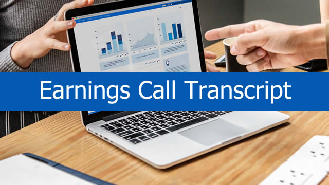Armstrong Flooring, Inc. (AFI) CEO Larry McWilliams on Q2 2019 Results - Earnings Call Transcript