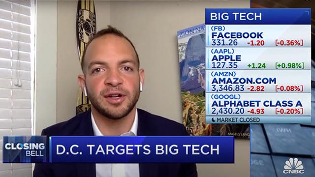Big Technology newsletter founder Alex Kantrowitz on tech antitrust bills