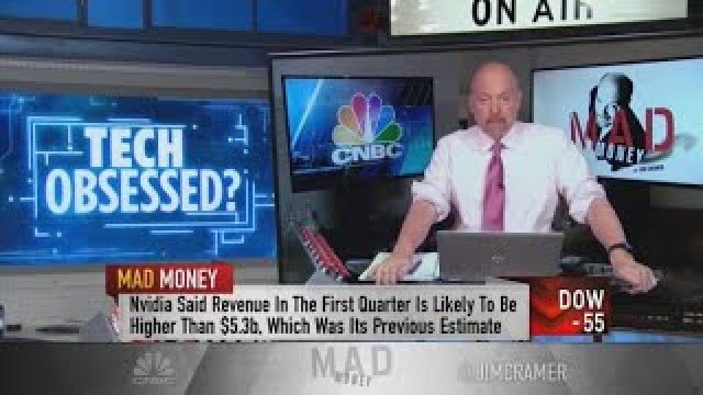 Cramer says Nvidia stock will 'end up looking cheap' a year from now
