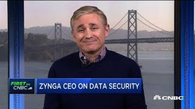 Zynga CEO Frank Gibeau on earnings and data security