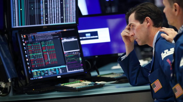 Nasdaq leads US stocks lower as Treasury yields jump to 3-month high