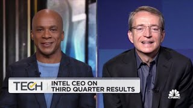 Intel CEO Pat Gelsinger on the company's Q3 results: We've underinvested in the past