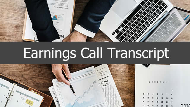 Armstrong Flooring, Inc. (AFI) CEO Michel Vermette on Q3 2019 Results - Earnings Call Transcript