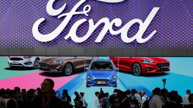 Why Ford Shares Are Rising