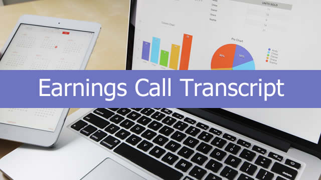 Federal Agricultural Mortgage Corporation (AGM) CEO Brad Nordholm on Q4 2019 Results - Earnings Call Transcript