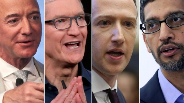"""House Lawmakers Slam Big Tech From All Sides With Five Bills; Say Apple, Amazon, Facebook, Google """"Prioritize Power Over Innovation"""""""