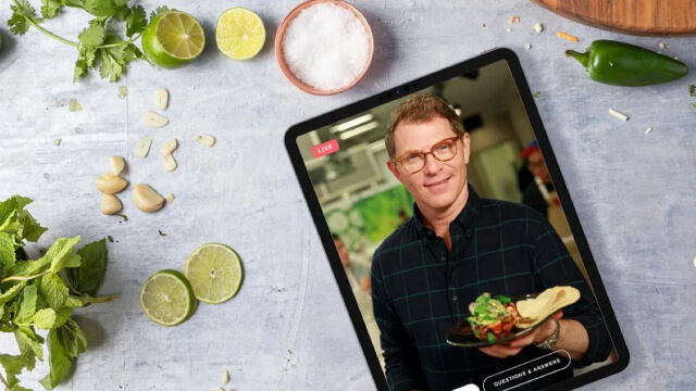Food Network Kitchen brings live, interactive cooking classes to Echo Show, Fire TV & more
