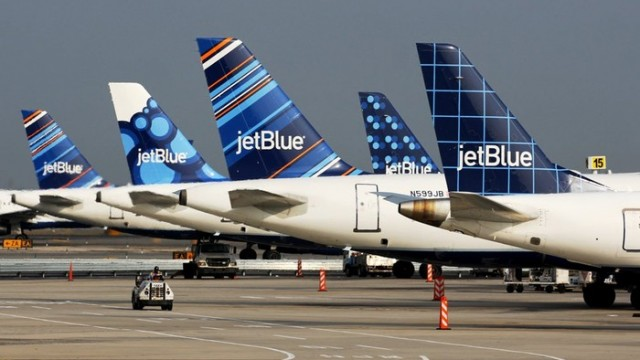 Why Shares of JetBlue Gained 15% in October