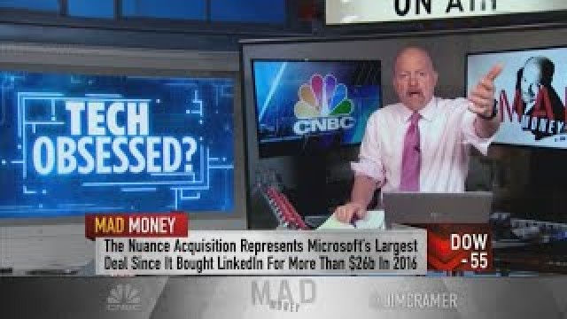 Jim Cramer on how Microsoft and Nvidia grow by reinventing themselves
