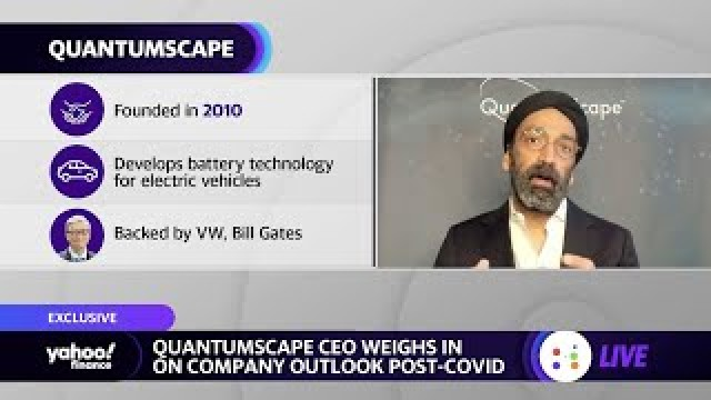 QuantumScape CEO on outlook, ramping up EV battery development