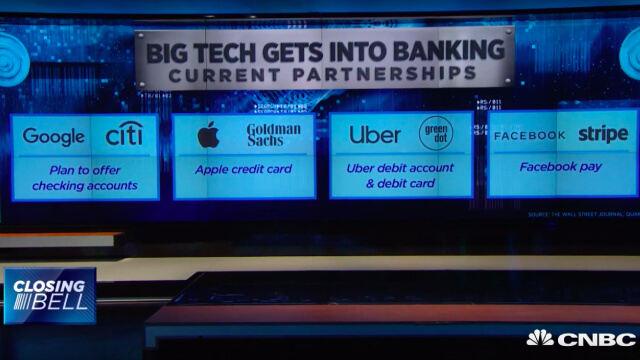 Google bets on banking