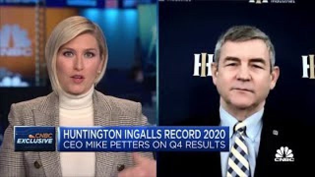 Huntington Ingalls CEO on quarterly earnings and Biden's defense strategy