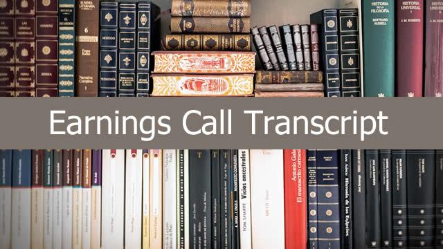 https://seekingalpha.com/article/4300084-encore-wire-corp-wire-ceo-daniel-jones-q3-2019-results-earnings-call-transcript