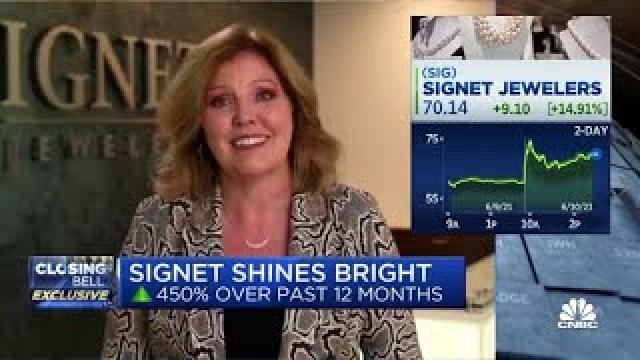 Signet Jewelers CEO Gina Drosos on first-quarter earnings