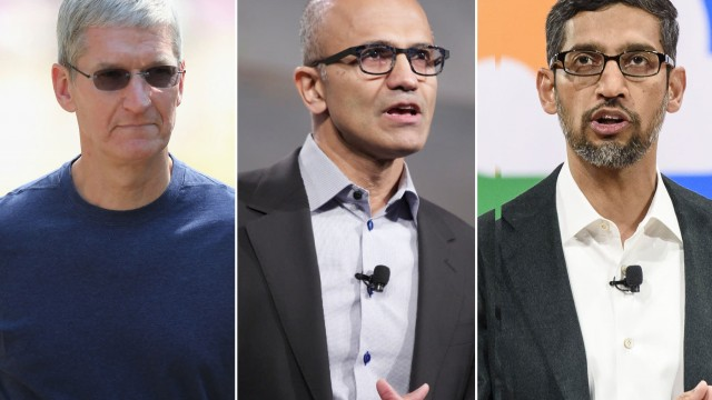 Apple, Microsoft or Alphabet: Traders on which is the best ever megacap