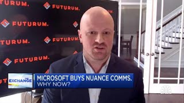 Why Microsoft decided to buy Nuance at a premium