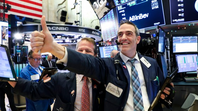 US stocks close at record highs as investors shrug off inflation concerns