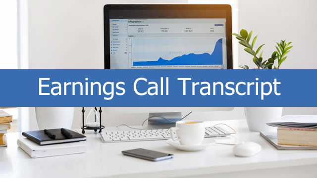 Federal Agricultural Mortgage Corporation (AGM) CEO Brad Nordholm on Q2 2019 Results - Earnings Call Transcript