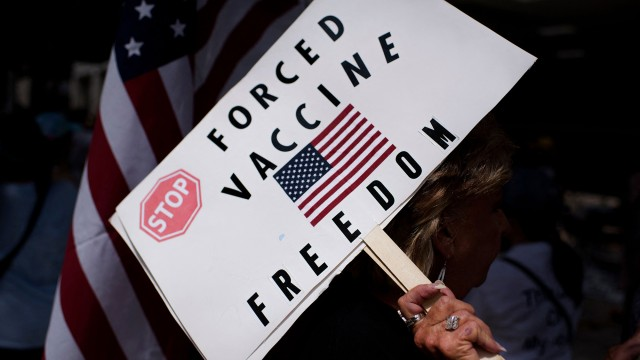 Apple bans 'Tinder for anti-vaxxers' from App Store
