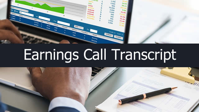 Federal Agricultural Mortgage Corporation (AGM) CEO Brad Nordholm on Q3 2019 Results - Earnings Call Transcript